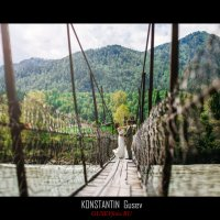 на мосту :: Константин Гусев