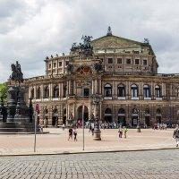 Оперный театр (Опера Земпера) в Дрездене :: Вадим *