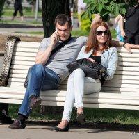 когда третий(телефон)лишний :: Олег Лукьянов