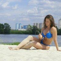 На пляже :: Анна Городничева