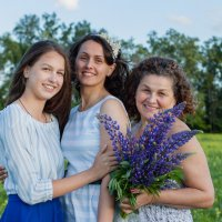 Три поколения :: Альбина Хайруллина
