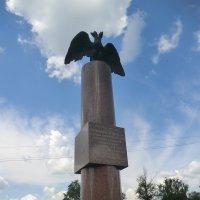 Город Вязьма. Памятник Перновскому полку, участнику Вяземского сражения 22 октября 1812 года :: Владимир Павлов