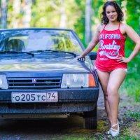 С любимым авто))).... :: игорь козельцев