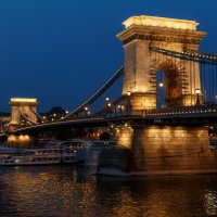 Цепной мост Сечени в Будапеште :: Вадим *