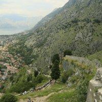 Вид на город со стены старой крепости :: Marina Talberga