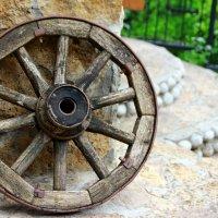 Старое колесо. :: Иван