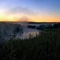 Утро на Чусовой. :: Пётр Сесекин