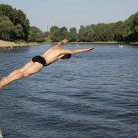 прыжок в воду :: Юрий Удвуд