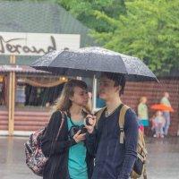 Что нам дождик проливной когда мы под зонтом с тобой! :: Дима Пискунов