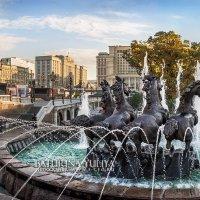 Кони в фонтане :: Юлия Батурина
