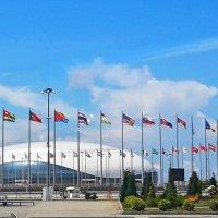 Большой ледовый дворец Олимпийского парка Сочи :: Tata Wolf