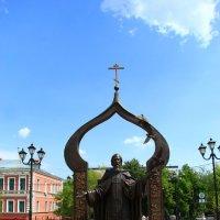 Памятник Сергию Раданежскому :: Владимир Андреевич Ульянов