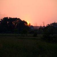 Боголюбово на закате :: Павел Серов