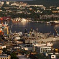 Владивосток на закате :: Лилия Гиндулина