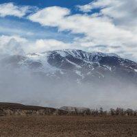 Не то облака сдуло, не то туман... :: Владимир Колесников