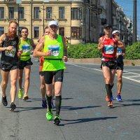"XXVII Международный марафон ""ЭРГО-Белые Ночи"" 2016 (г. Санкт-Петербург) :: Юрий Митенёв"