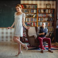 Александр и Дарья :: Вадим Великоиваненко