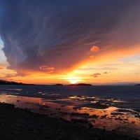"""Байкал. Рассвет :: База отдыха """"Уюга"""" Байкал. Малое Море"""