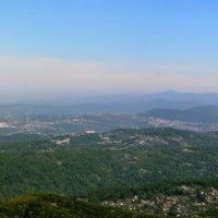 Панорама Сочи с горы Ахун :: Александр