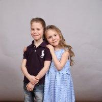 брат  и сестра :: Ольга