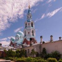 Валаамский монастырь, вид на Спасо-Преображенский собор :: Владимир Демчишин