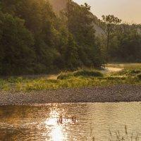 Раннее утро на реке Лемеза... :: Альмира Юсупова