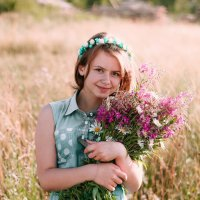 Полевые цветы :: Турбо Еж