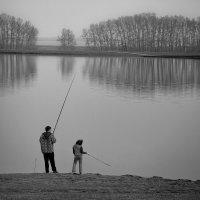 Диалоги на рыбалке :: Виктор Четошников