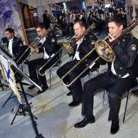 Моряки, тромбоны и Андреевский Флаг!... :: Oleg Konyzhev