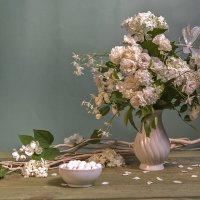 Белые цветы :: Ольга Дядченко