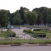 Окрестности Центрального спорткомплекса в Рязани (вход в городскую рощу) :: Александр Буянов