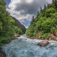 река Большая Лаба :: anatoly Gaponenko