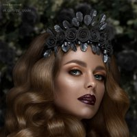 Черная роза :: Irina Safronova