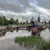 Музей  «Подводная лодка Б-440» в Вытегре :: Valeriy Piterskiy