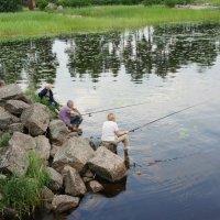 На рыбалке :: Елена Павлова (Смолова)