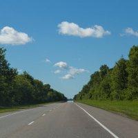 По дороге с облаками... :: Светлана