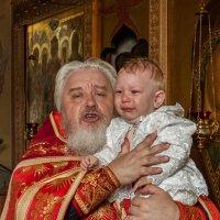Максимкины крестины :: Константин Нестеров