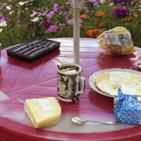 Летний столик :: Aнна Зарубина