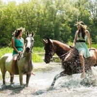 Знойный полдень на реке :: Анна