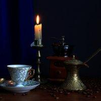 Вечерний  кофе :: Наталья Казанцева