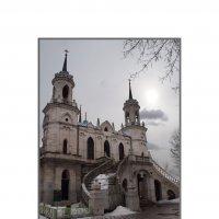 Церковь в пос. Быково :: Борис Александрович Яковлев