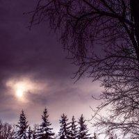 Зимний закат в Минске :: Hanna Prakapovich