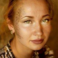 Девушка с макияжем змеи :: Татьяна Стрижко