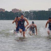 Финиш водного этапа :: Владилен Панченко