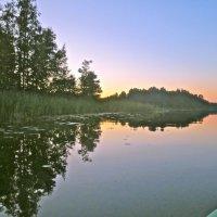 вечер над озером :: Елена
