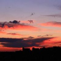 Краски вечернего неба :: Татьяна Ломтева