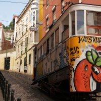 ...трамвайчик в городе :: Дарья Садовникова
