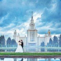 Мой взгляд на фотосессию на фоне МГУ :: Анастасия Шумилова