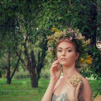 """Фотопроект """"Барышня - крестьянка"""" :: Ксения Довгопол"""
