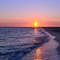 Сиреневый закат :: Ольга Голубева